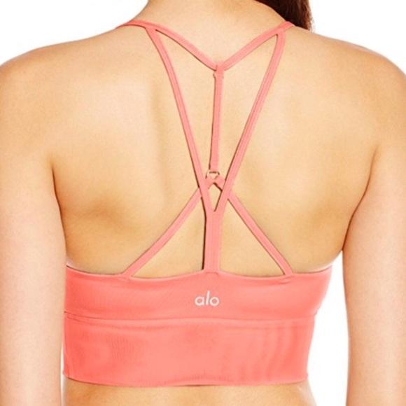 2b1259cc5e38b ALO Yoga Other - alo Yoga Strappy Lush Sports Bra